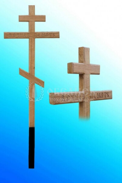 """Крест дубовый """"Малый""""  (1900x55x6)"""