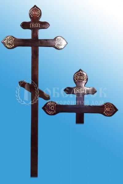 """Крест сосна """"Ажурный"""""""