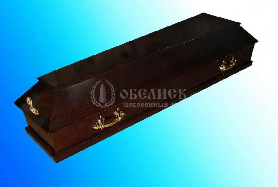 Гроб полированный (1 крышка) №7
