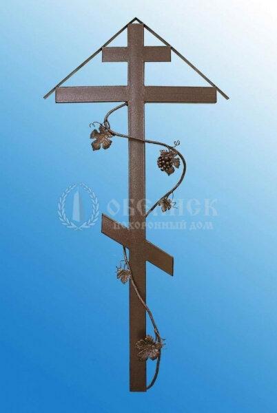 Крест (металл кованный) №4