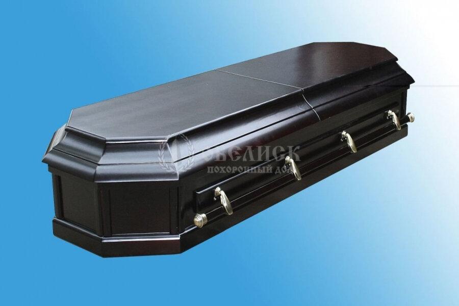 Гроб полированный (2 крышки) №3