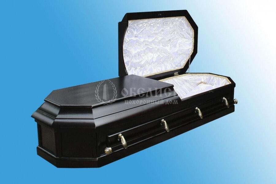 Гроб полированный (2 крышки) №4