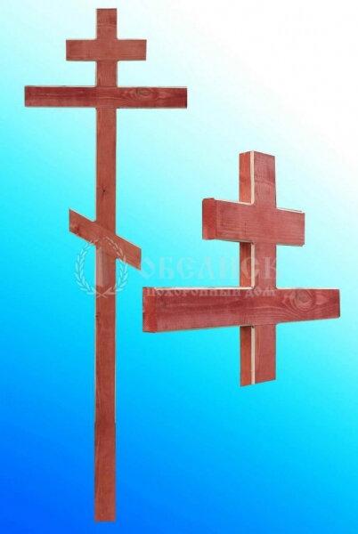 Крест сосна с фаской