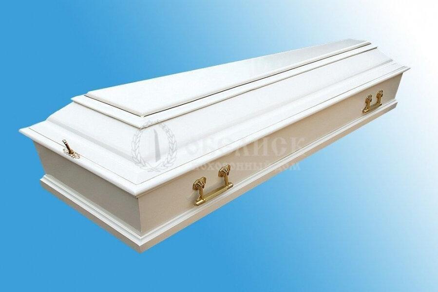Гроб полированный (1 крышка) №12