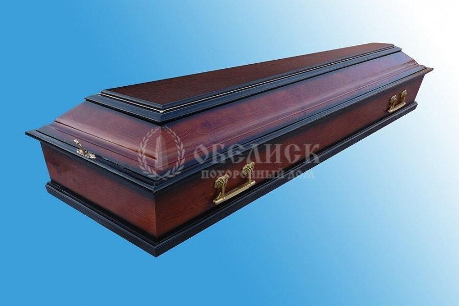 Гроб полированный (1 крышка) №13