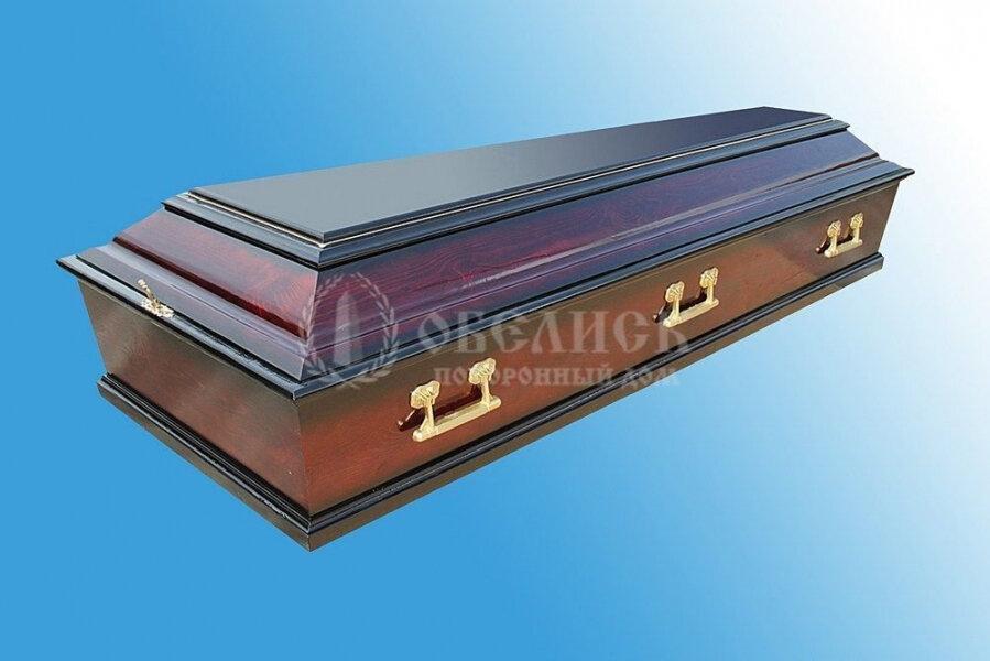 Гроб полированный (1 крышка) №14