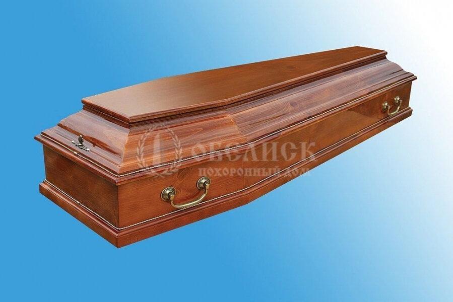 Гроб полированный (1 крышка) №15