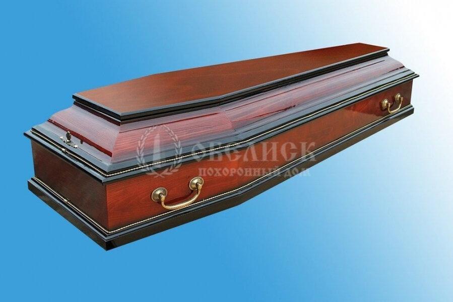 Гроб полированный (1 крышка) №16