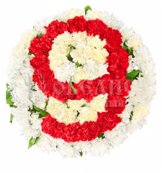 Цветы, гирлянды для возложения (букет №14)