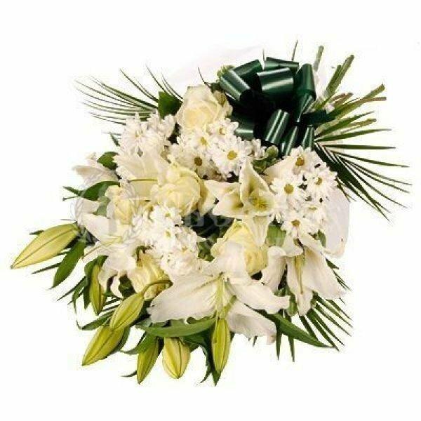 Цветы, гирлянды для возложения (букет №7)