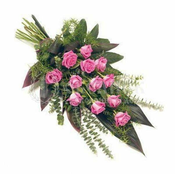 Цветы, гирлянды для возложения (букет) №5