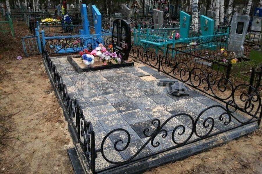 Оформление могил №10