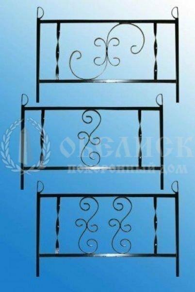 Металлическая ограда №4