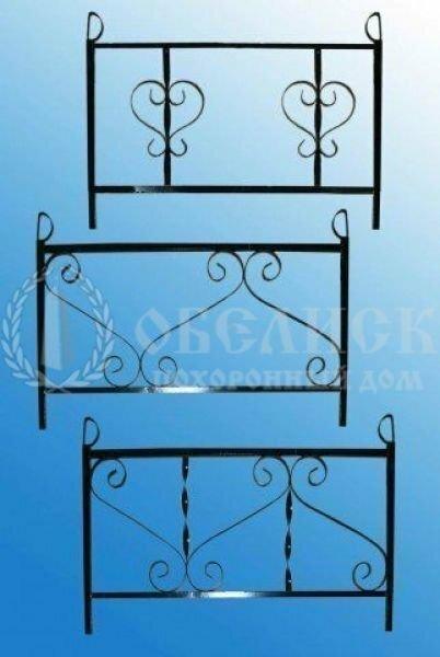 Металлическая ограда №5