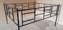 Металлическая ограда Забор