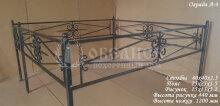 Металлическая ограда А-4
