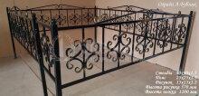 Металлическая ограда А-Бублик