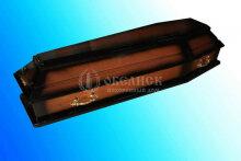 Гроб полированный (1 крышка) №8