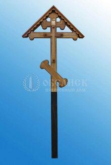 Крест дубовый (2550x100x10)