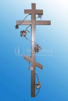 Крест (металл кованный) №3