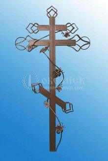 Крест (металл кованный) №5
