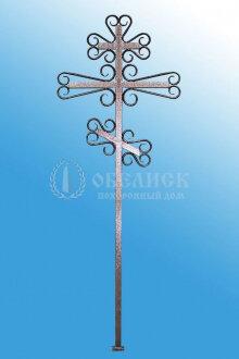 Крест (металл кованный) №2