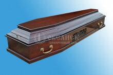 Гроб полированный (1 крышка) №17