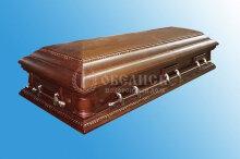 Гроб полированный (2 крышки) №11