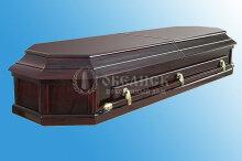 Гроб полированный (2 крышки) №9