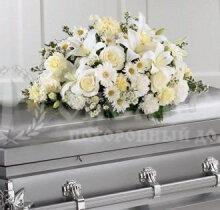 Цветы, гирлянды для возложения (букет 50 х30 см) №3