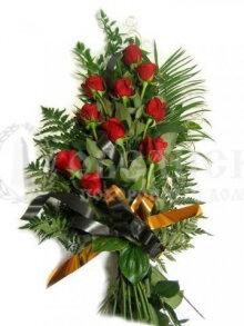 Цветы, гирлянды для возложения (букет №4)