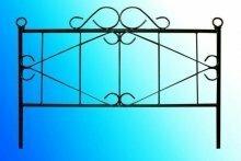 Металлическая ограда №3